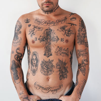 cholo temporary tattoos
