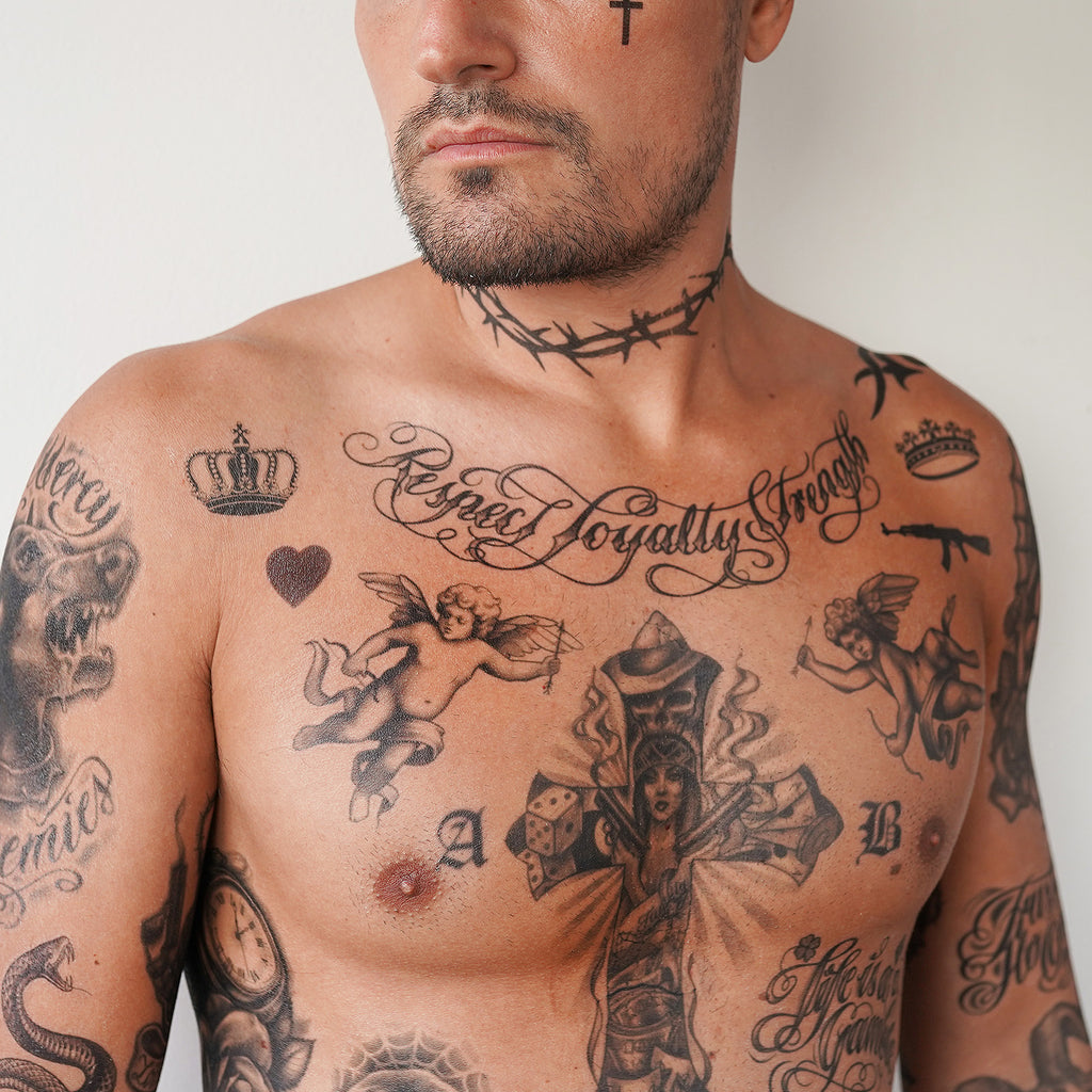 mexican prison tattoos