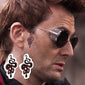 crowley snake temporary tattoo