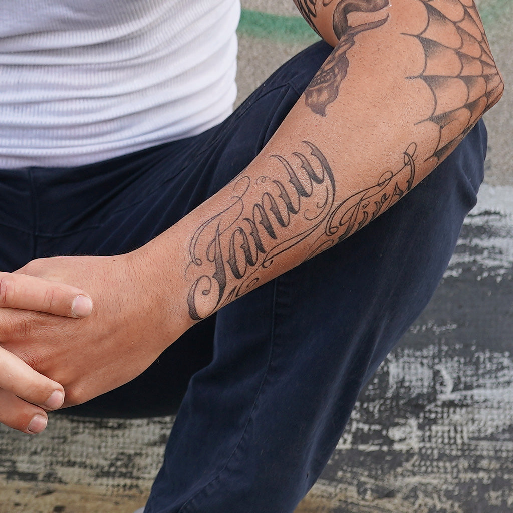 family first chicano tattoo