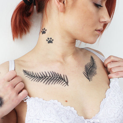 Fern Tattoo (Set of 2)