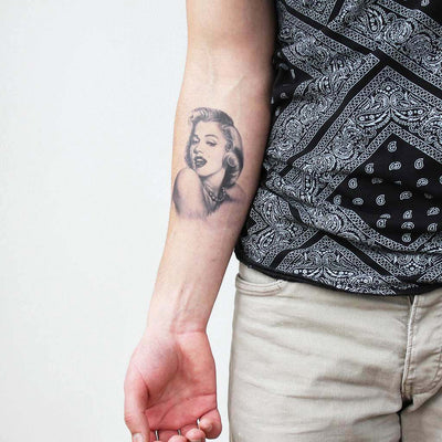 marylin monroe tattoo