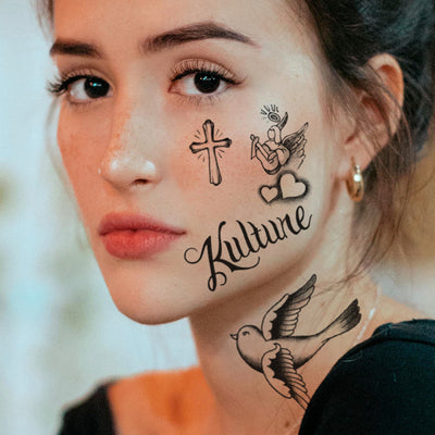 Offset Temporary Tattoos Set