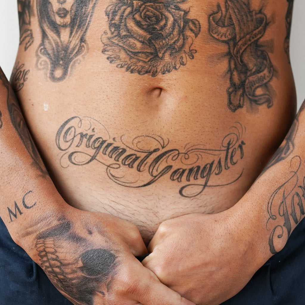 Original Gangster Tattoo Icon