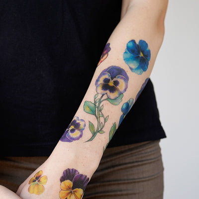 pansy tattoo girl