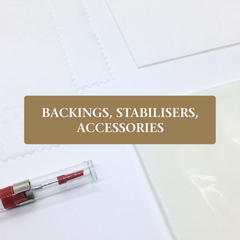 Shepha - Backings, Stabilisers, Accessories