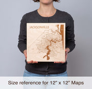 Washington DC Personal Home Decor - Etched Atlas