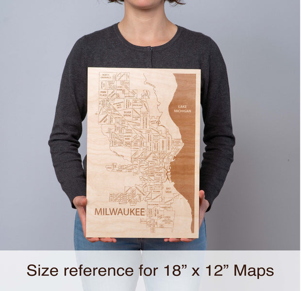 Redondo Beach Personal Home Decor - Etched Atlas