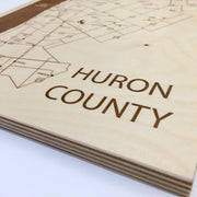 Huron County-Etched Atlas
