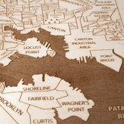 Baltimore Closing Housewarming Gift - Etched Atlas