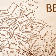 Berlin Custom Map Gift - Etched Atlas