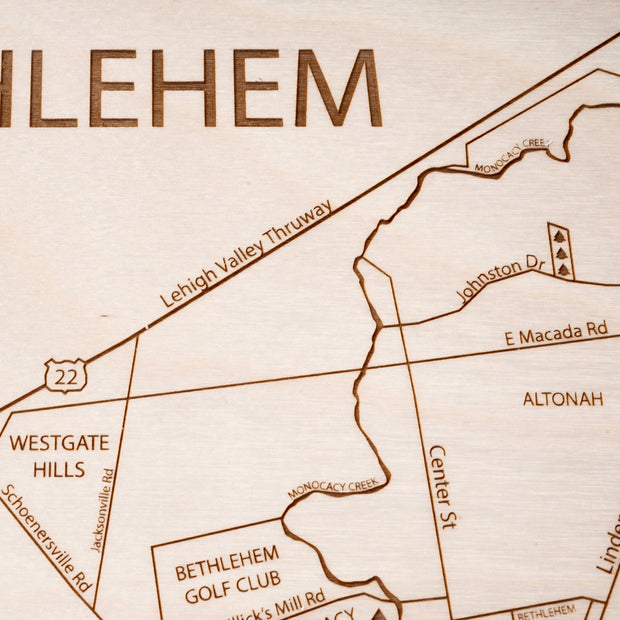 Bethlehem-Etched Atlas