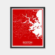 Boston University (Boston Area Map)