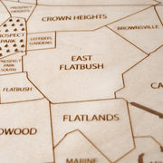 Brooklyn Custom Map Gift - Etched Atlas