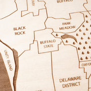 Buffalo Closing Housewarming Gift - Etched Atlas