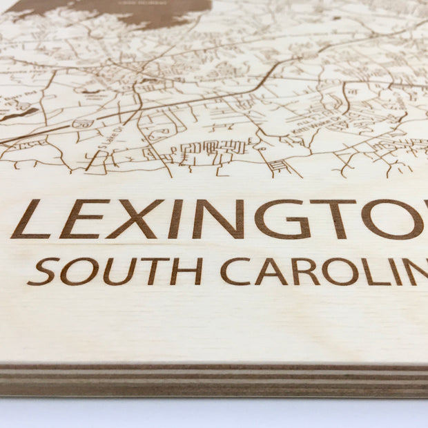 Lexington, SC-Etched Atlas