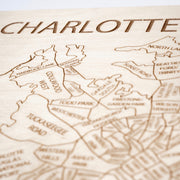 Charlotte Closing Housewarming Gift - Etched Atlas