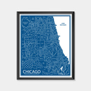 DePaul University (Chicago Area Map)