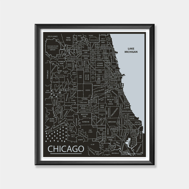 Chicago White Sox (Chicago Area Map)