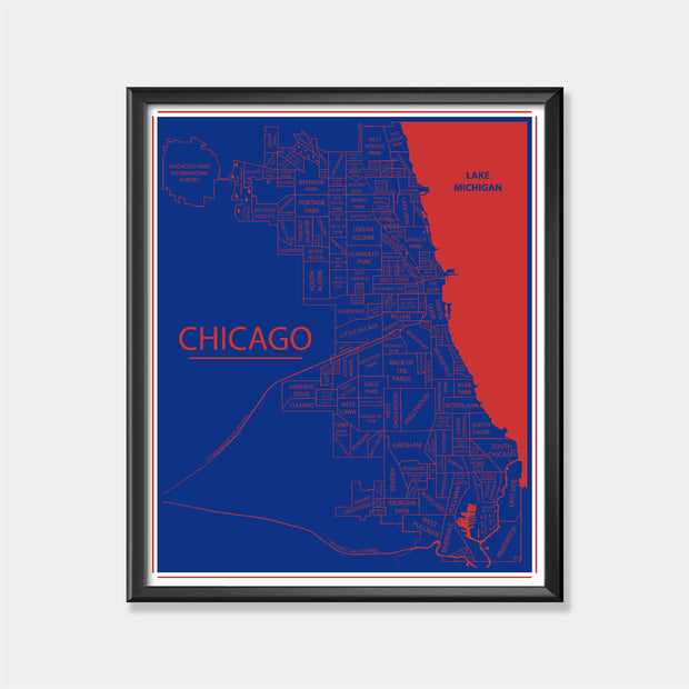 Chicago Cubs (Chicago Map)