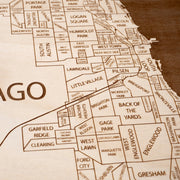 Chicago Closing Housewarming Gift - Etched Atlas