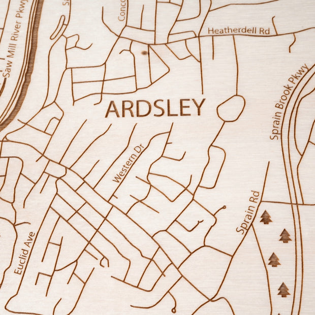 Dobbs Ferry Closing Housewarming Gift - Etched Atlas