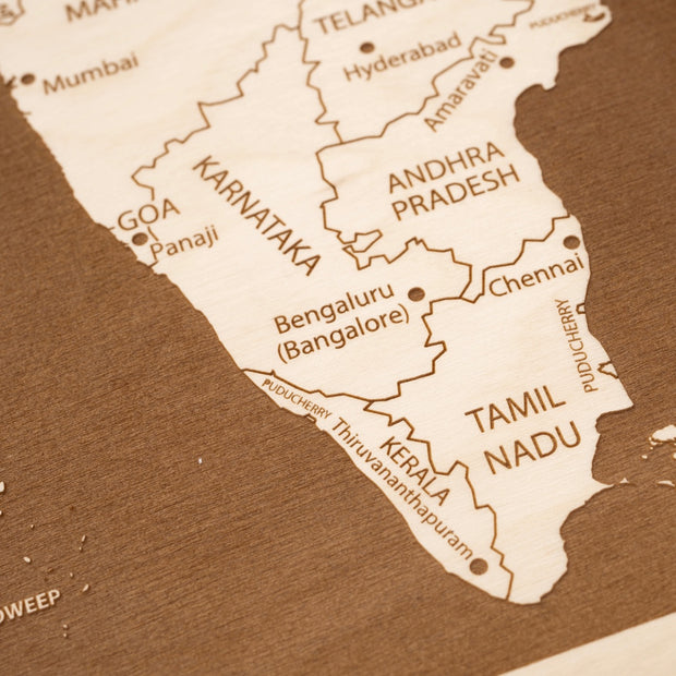 India-Etched Atlas
