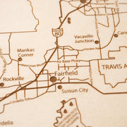 Solano County-Etched Atlas