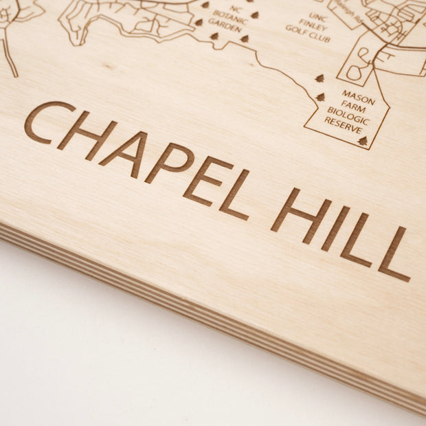 Chapel Hill-Etched Atlas