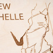 New Rochelle Custom Map Gift - Etched Atlas