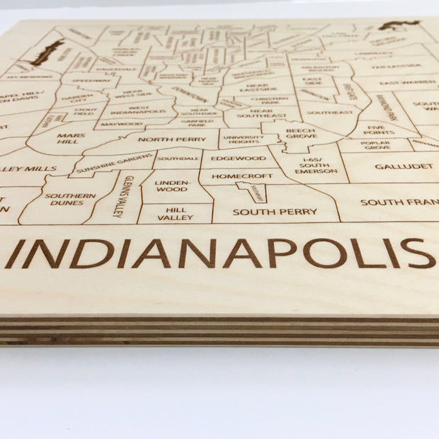Indianapolis-Etched Atlas