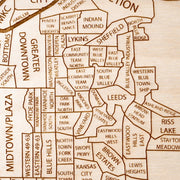 Kansas City, MO + KS Closing Housewarming Gift - Etched Atlas