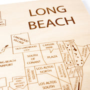 Long Beach Custom Map Gift - Etched Atlas