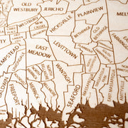 Long Island Closing Housewarming Gift - Etched Atlas