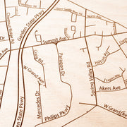 Montvale Closing Housewarming Gift - Etched Atlas