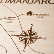 Mount Kilimanjaro-Etched Atlas
