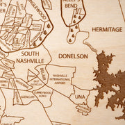 Nashville Closing Housewarming Gift - Etched Atlas