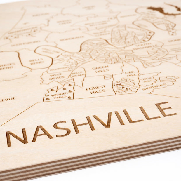 Nashville-Etched Atlas