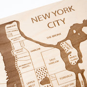 New York City-Etched Atlas