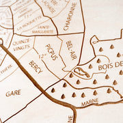 Paris Closing Housewarming Gift - Etched Atlas