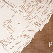 Playa del Carmen Closing Housewarming Gift - Etched Atlas