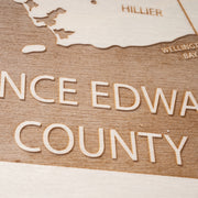 Prince Edward County-Etched Atlas