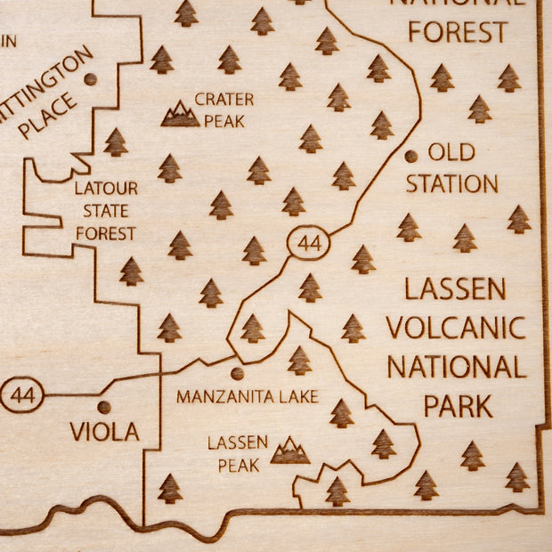 Shasta County-Etched Atlas