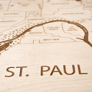St. Paul Closing Housewarming Gift - Etched Atlas
