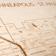 Twin Cities-Etched Atlas