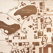 University of Notre Dame-Etched Atlas