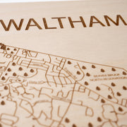 Waltham Closing Housewarming Gift - Etched Atlas