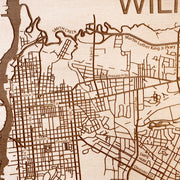 Wilmington Custom Map Gift - Etched Atlas