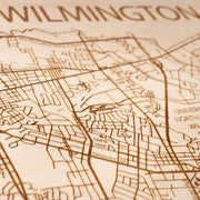 Wilmington Closing Housewarming Gift - Etched Atlas