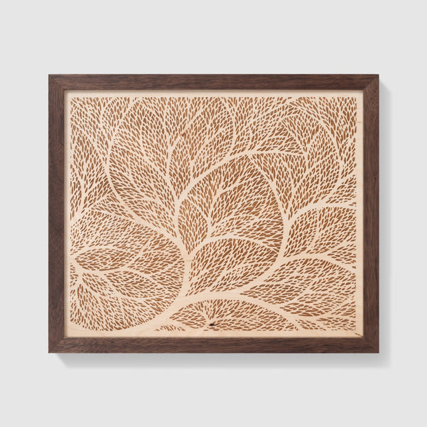 Wood Art 3 Custom Wedding Gift - Etched Atlas